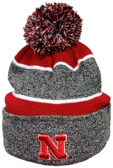 Picture of Nebraska Z Jackson Knit | Stocking Hat