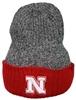 Picture of Nebraska Z Reversible Heather Knit | Stocking Hat