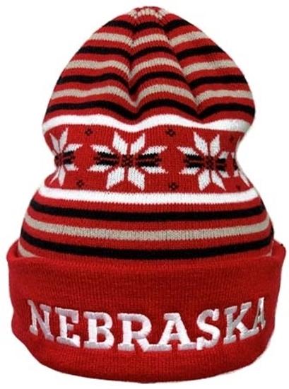 Picture of Nebraska Adidas® Cuffed Beanie