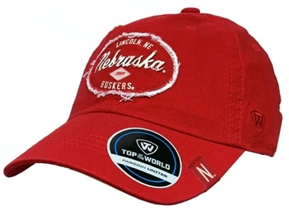 Picture of Nebraska TOW Tatter Hat | Adjustable