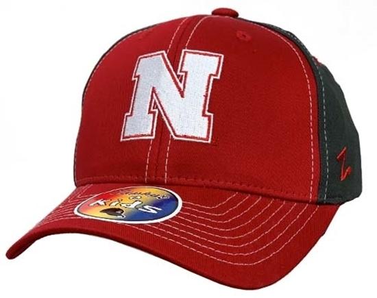 Picture of Nebraska Z Kids Rebel Hat | Snapback