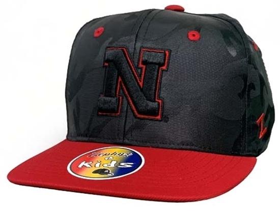 Picture of Nebraska Z Kids Sawyer Y Hat | Snapback