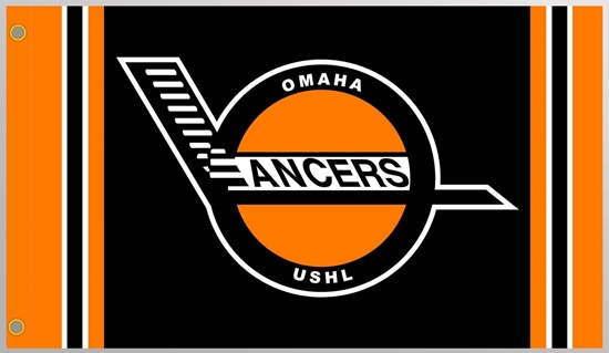 Picture of Omaha Lancers Retro Flag