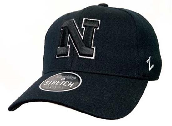 Picture of Nebraska Z ZH Black Hat | Stretch Fit