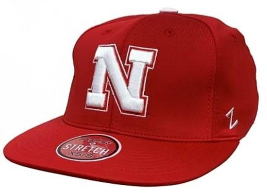 Picture of Nebraska Z Fleet Hat | Stretch Fit