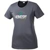 Picture of Nebraska Nemesis Gold Ladies Performance Short Sleeve Shirt (NN002G)