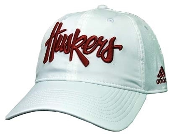 Picture of Nebraska Adidas® Herbie Slouch Hat - Adjustable