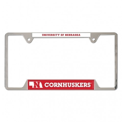 Picture of NU Cornhuskers License Plate Frame