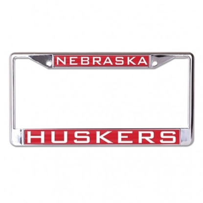 Picture of NU Huskers Laser License Frame