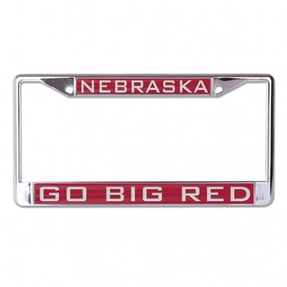 Picture of NU Go Big Red Laser License Frame