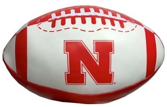 "Picture of NU Goal Line 8"" Softee Football"