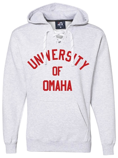 Picture of UNO Laced Hooded Sweatshirt (UNO Hockey-076)