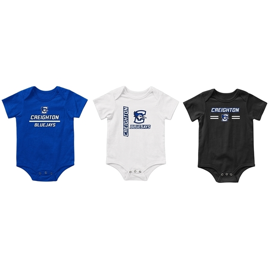 Picture of Creighton Colosseum® Runt Infant 3-Pack Onesie