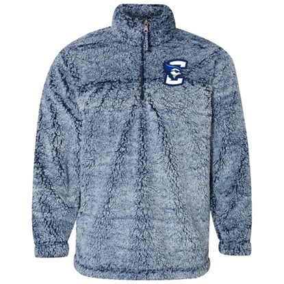 Picture of Creighton Sherpa Fleece ¼ Zip Pullover