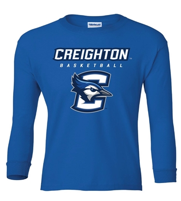 Picture of Creighton Youth Basketball Long Sleeve Shirt