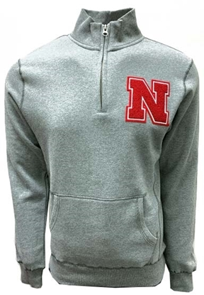 Picture of Nebraska Blue 84® SA 1/4 Zip Cadet Jacket