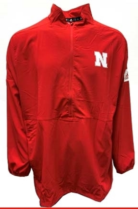 Picture of Nebraska Adidas® Game Mode 1/2 Zip