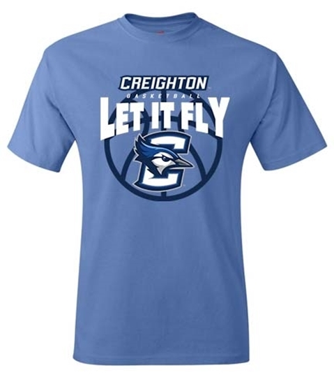 Picture of Creighton Basketball Short Sleeve Shirt (CU-209)