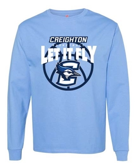 Picture of Creighton Basketball Long Sleeve Shirt (CU-209)