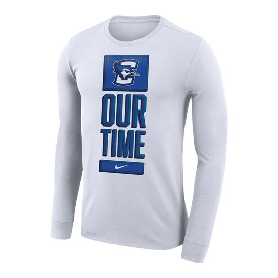 Picture of Creighton Nike® 2020 NCAA Men's Basketball Tournament Performance Long Sleeve Shirt