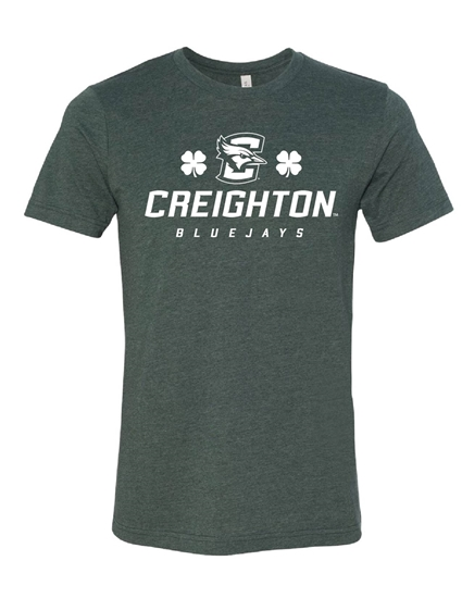 Picture of Creighton St. Patrick's Soft Cotton Short Sleeve Shirt (CU-070)