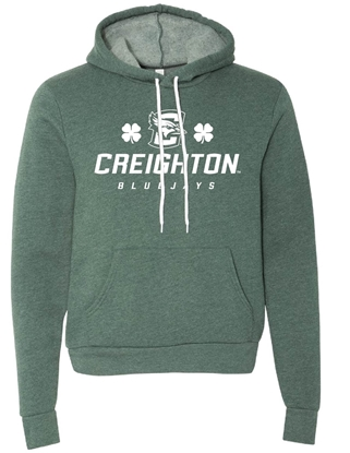 Picture of Creighton St. Patrick's Sponge Fleece Hooded Sweatshirt (CU-070)
