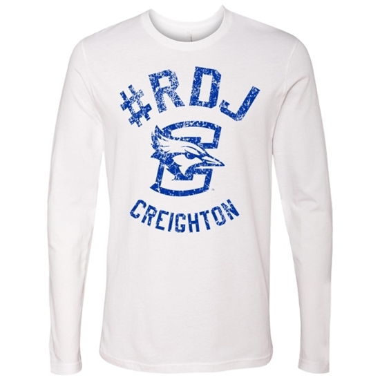 Picture of Creighton Soft Cotton Long Sleeve Shirt (CU-214)