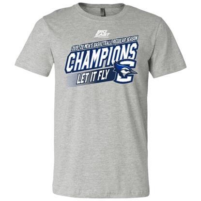Picture of Creighton 2019-20 Big East Basketball Regular Season Champions Short Sleeve Shirt