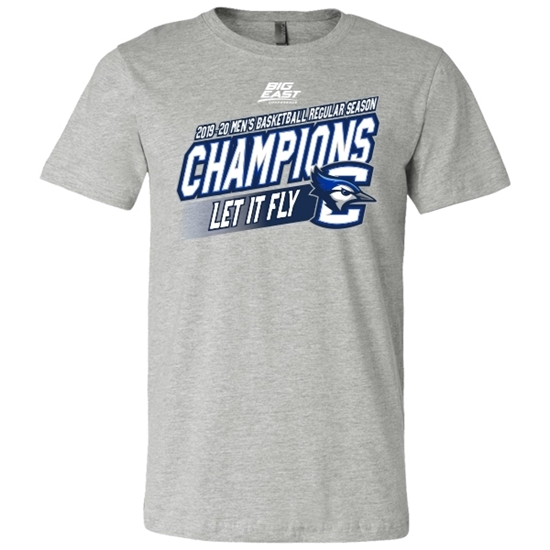 Picture of Creighton 2019-20 Big East Basketball Regular Season Champions Short Sleeve Shirt