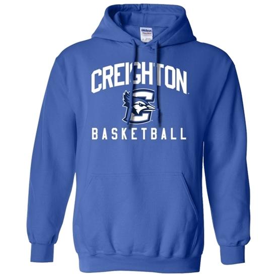 Picture of Creighton Basketball Hooded Sweatshirt (CU-168)