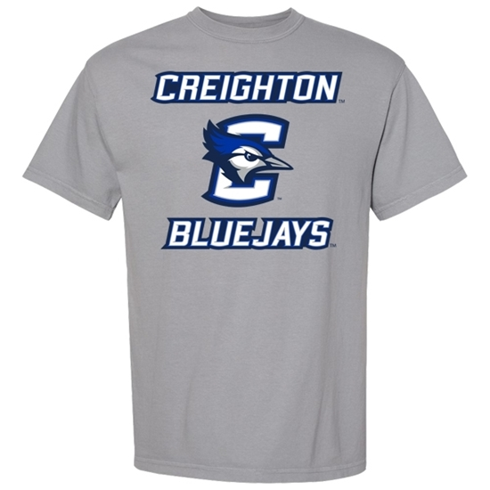Picture of Creighton Garment-Dyed Short Sleeve Shirt (CU-189)