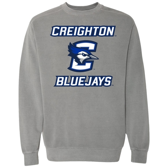 Picture of Creighton Garment-Dyed Sweatshirt (CU-189)