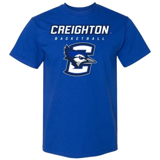 Picture of Creighton Basketball Soft Cotton Short Sleeve Shirt (CU-193)