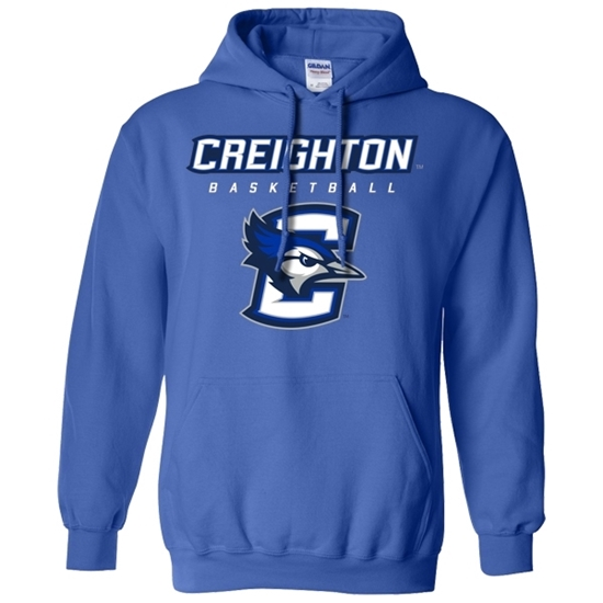 Picture of Creighton Basketball Hooded Sweatshirt (CU-193)
