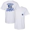 Picture of Creighton Soft Cotton Pocket Short Sleeve Shirt (CU-202)