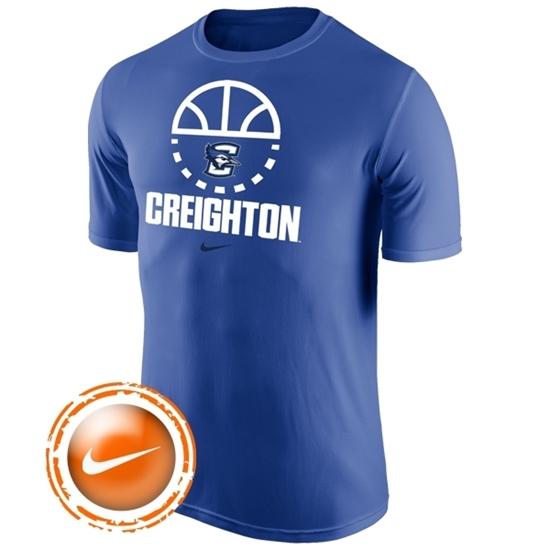 Picture of Creighton Nike® Basketball Legend Short Sleeve Shirt