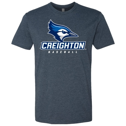 Picture of Creighton Baseball Soft Cotton Short Sleeve Shirt (CU-019)