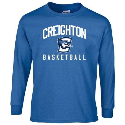 Picture of Creighton Basketball Youth Long Sleeve Shirt (CU-168)
