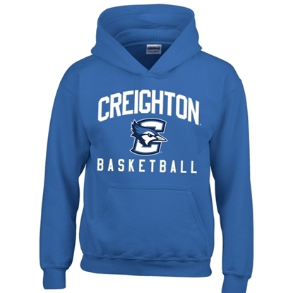 Picture of Creighton Basketball Youth Hooded Sweatshirt (CU-168)