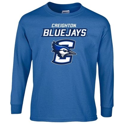 Picture of Creighton Youth Long Sleeve Shirt (CU-191)