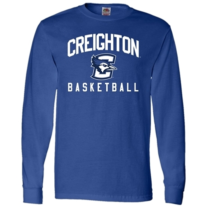 Picture of Creighton Basketball Long Sleeve Shirt (CU-168)