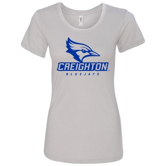 Picture of Creighton Ladies Soft Cotton Short Sleeve Shirt (CU-073)