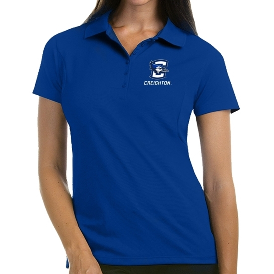 Picture of Creighton Ladies Extra Light Pique Polo