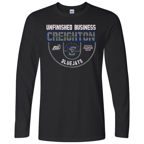 Picture of Creighton Basketball Soft Cotton Long Sleeve Shirt (CU-217)