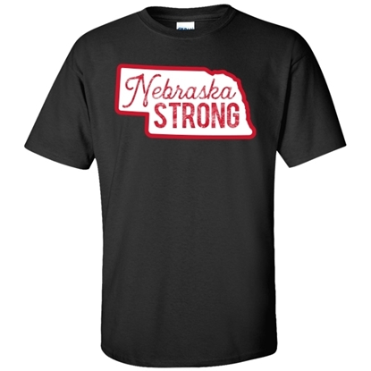 Picture of Nebraska Strong Soft Cotton Short Sleeve Shirt