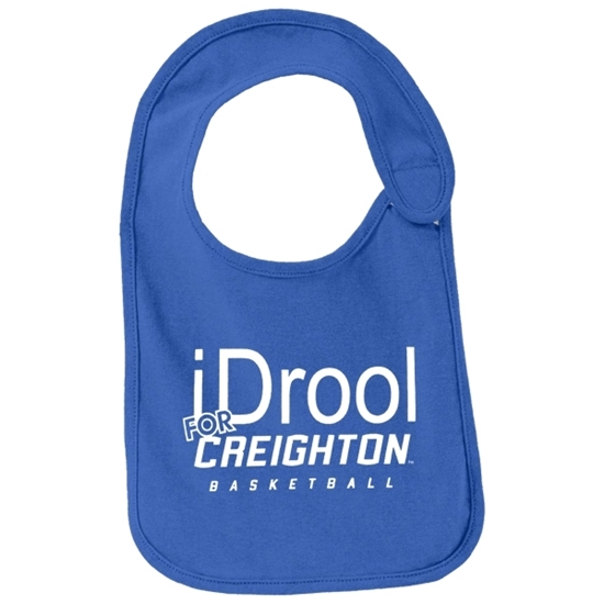 Picture of Creighton Infant Drool For Basketball Bib