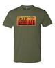 Picture of Nebraska Sunset License Plate 2002-2004 T-shirt