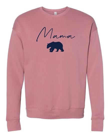 Picture of Mama Bear Sponge Fleece Crewneck Sweatshirt