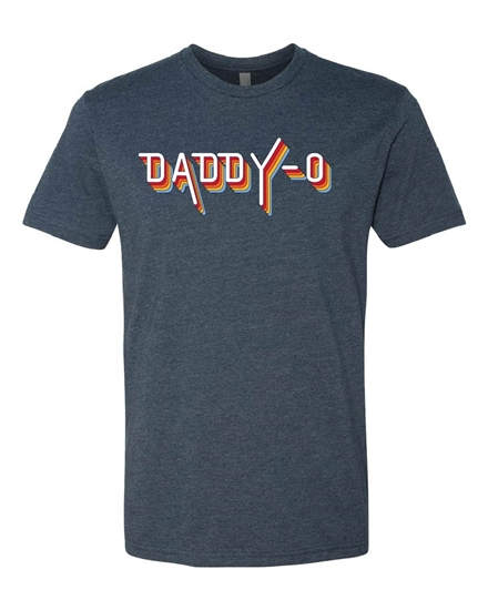 Picture of Daddy-O Retro Father's Day T-shirt