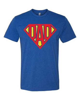 Picture of Superman Dad Father's Day T-shirt